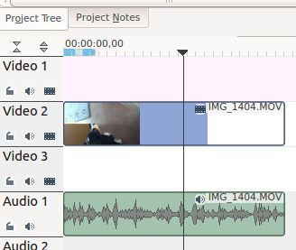Kdenlive Video plus Audio in seperate tracks.png