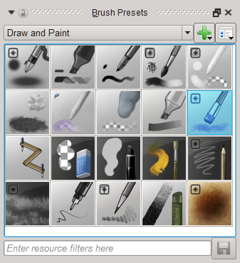 Krita Brush Preset Docker.png