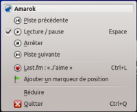 Amarok 2.8 Systray window FR.png