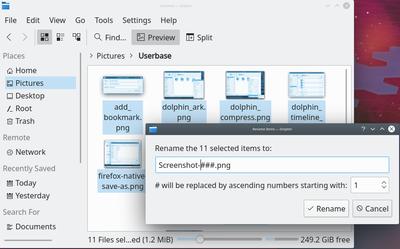 Dolphin/Batch Rename - KDE UserBase Wiki