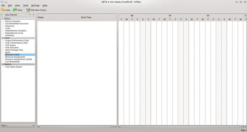 Kplatoengineering to order project tutorialexecuting kde kplato mganttg ccuart Images