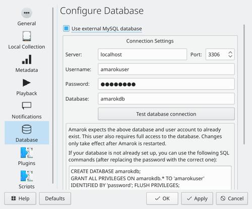 Tutorials/Shared Database - KDE UserBase Wiki