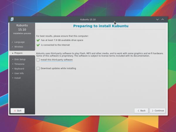 Kubuntu thumb drive username and password