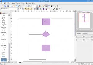 Программы.  Frimen.  Приложение KOffice для построения схем и организационных диаграмм.  19 апреля 2008.