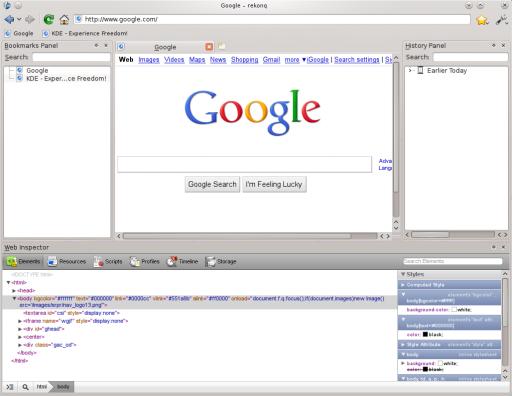 rekonq web browser